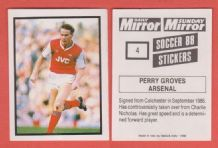 Arsenal Perry Groves